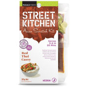 Street Kitchen 285g Red thai curry ateria-ainekset