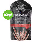 10kpl Mini stick chorizo 100g