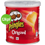 12kpl Pringles Small Can Original 40g