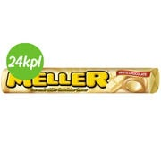 24kpl Meller 38g White Chocolate