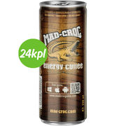 24kpl Mad Croc 250ml energy coffee maitokahvi
