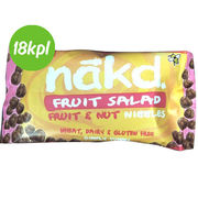 18kpl Nakd Fruit & Nut Nibbles: Fruit Salad