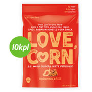 10kpl Love Corn habanero chili 45g