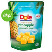 6kpl Dole, Tropical Gold ananaspalat mehussa, pussi