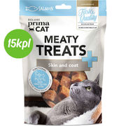 15kpl DPC Meaty Treats - Skin and coat 30 g