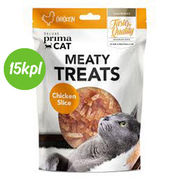 15kpl DPC Meaty treats - Chicken slice 30 g