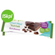 15kpl Nutrilett 58g Rich Brownie bar
