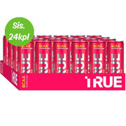 24kpl TRUE BCAA juoma Strawberry / Goji + caffeine 330ml