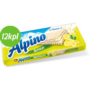 12kpl Alpino Lemon Wafer 140g