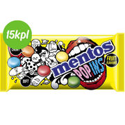 15kpl Mentos 50g Pop Ins Fruit