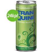 24kpl Tranquini Green Tea Twist 250ml tlk