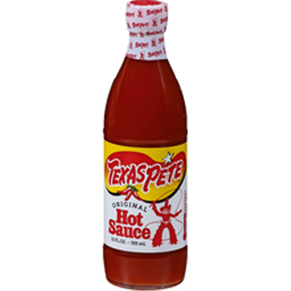 TEXAS PETE 355ML HOT SAUCE  MAUSTEKASTIK