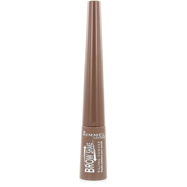 Rimmel Brow This Way Brow Shake Filling Powder 3in1 002 medium brown kulmapuuteri