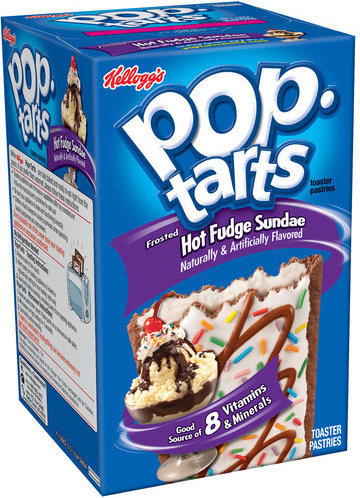 Kellogg's Pop Tarts Hot Fudge Sundae 384g