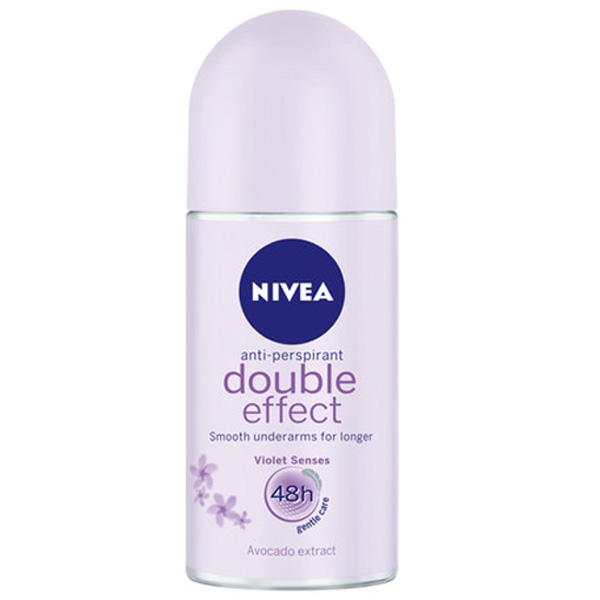 NIVEA 50ml Double Effect deo roll-on antiperspirantti