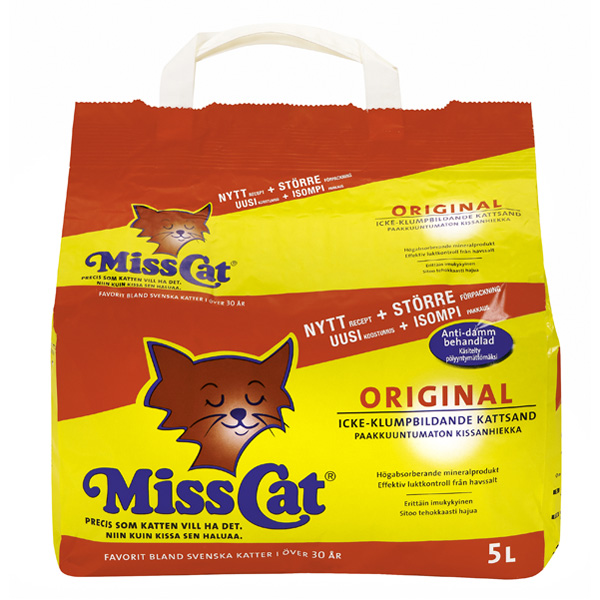 Miss Cat kissanhiekka 5l