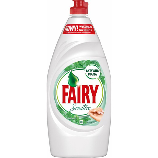 Fairy 900ml Sensitive Teepuu & Minttu