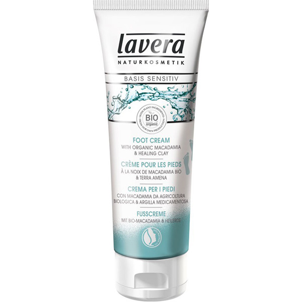 Lavera basis Foot Cream 75ml