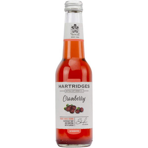 Hartridges Cranberry karpalomehu 275ml