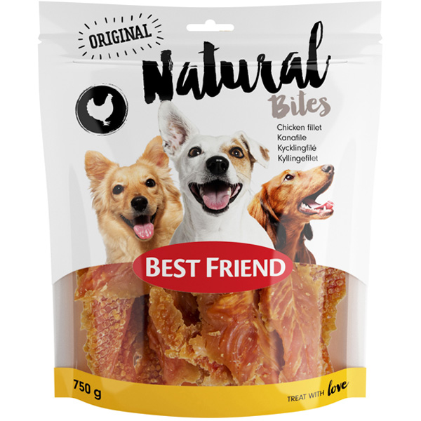 Best Friend Natural Bites kanafilee koiralle 750g