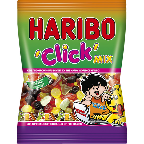 Haribo Click Mix makeispussi 120g