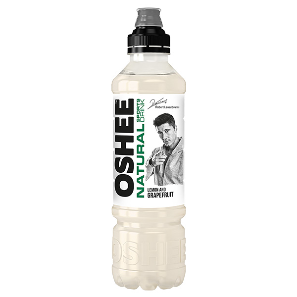 6kpl Oshee Isotonic Natural Lemon & Grapefruit urheilujuoma 750ml