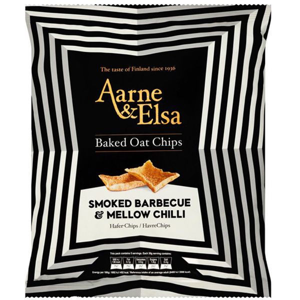 Linkosuo Aarne&Elsa Smoked barbeque & Mellow chili kauralastu 150g