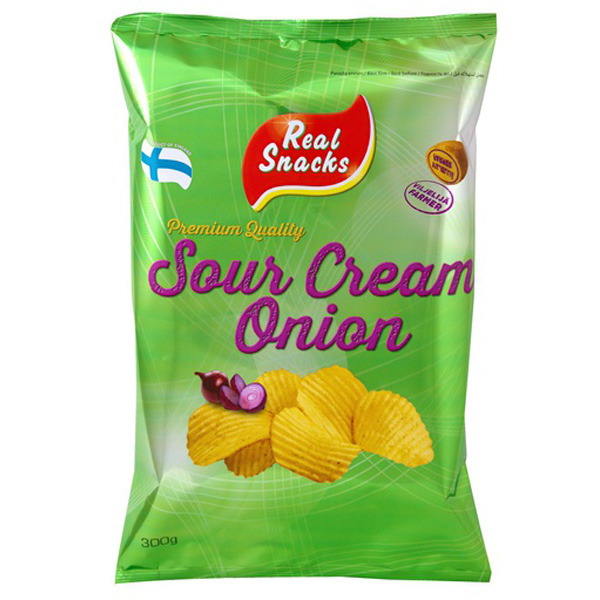 REAL SNACKS 300G SOURCR&ONION PERUNAL