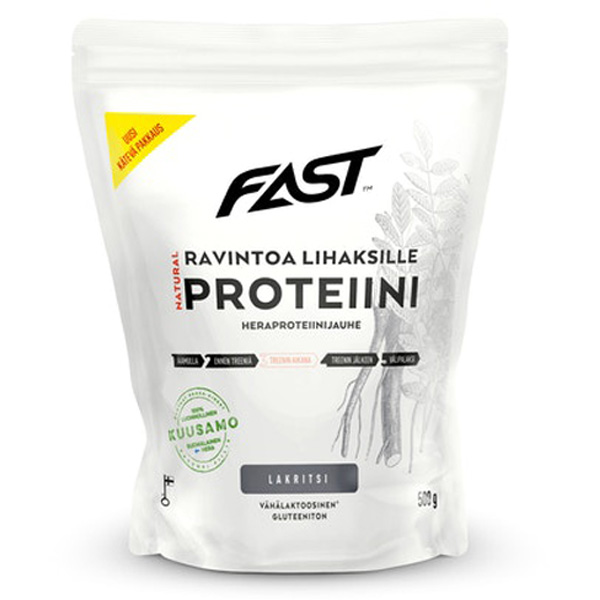 FAST Natural Protein lakritsi 500g