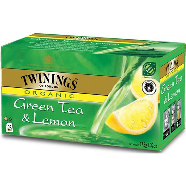 TWININGS 25PS/37.5G LUOMU GREEN TEA LEMO