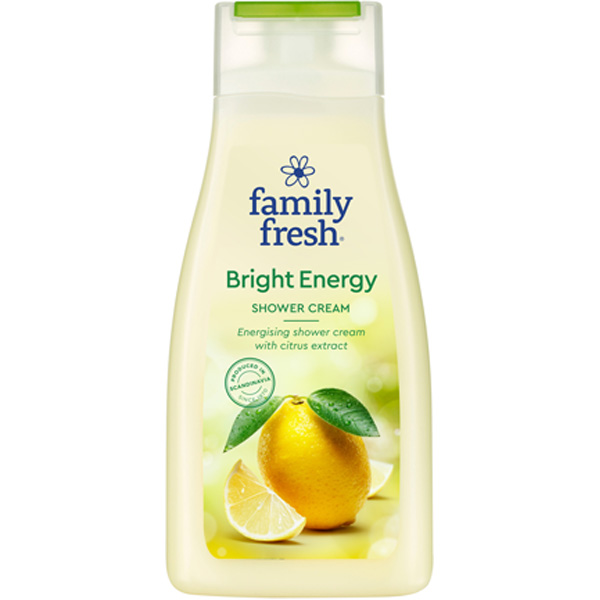 Family Fresh 500ml Bright Energy suihkusaippua