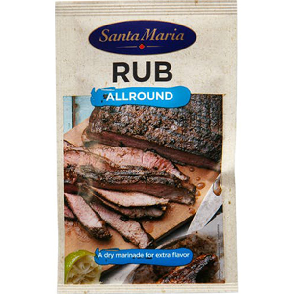 Santa Maria BBQ Rub Allround kuiva marinadimauste 22g