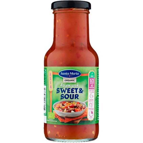 Santa Maria 250ml Asian Wok Sweet & Sour Luomu