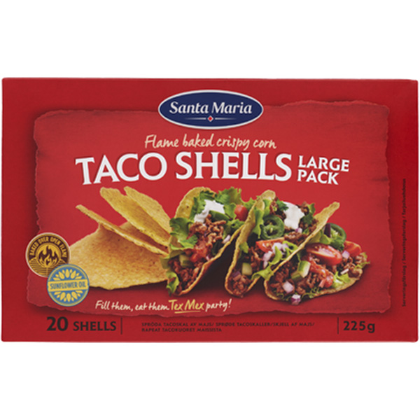 Santa Maria Taco Shells Big Pack 225g