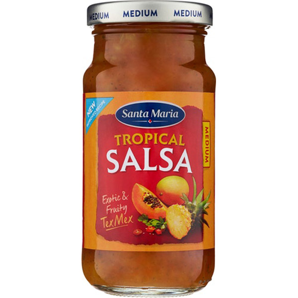 Santa Maria Tropical Salsa medium texmex-kastike 230g