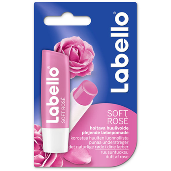 Labello 4,8g Soft Rose huulivoide