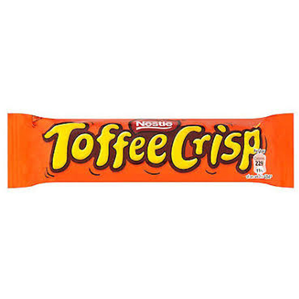 Nestlé Toffee Crisp Chocolate Bar 38g
