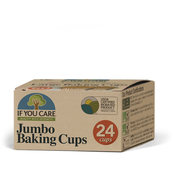 If You Care leivikuppi Jumbo (24pcs)