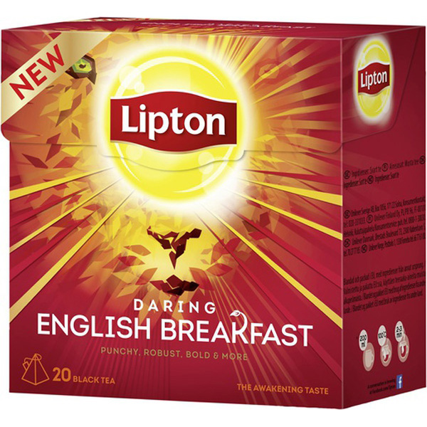 LIPTON 20 KPL ENGLISH BREAKFAST TEE
