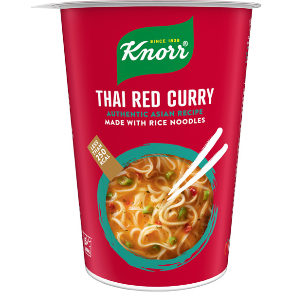 8kpl Knorr Thai Red Curry riisinuudelikeitto 69g
