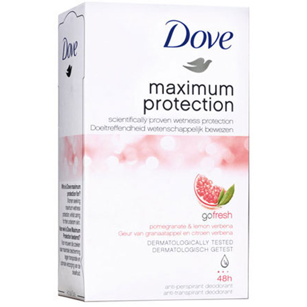 Dove Maximum Protection granaattiomena deodorantti 45ml