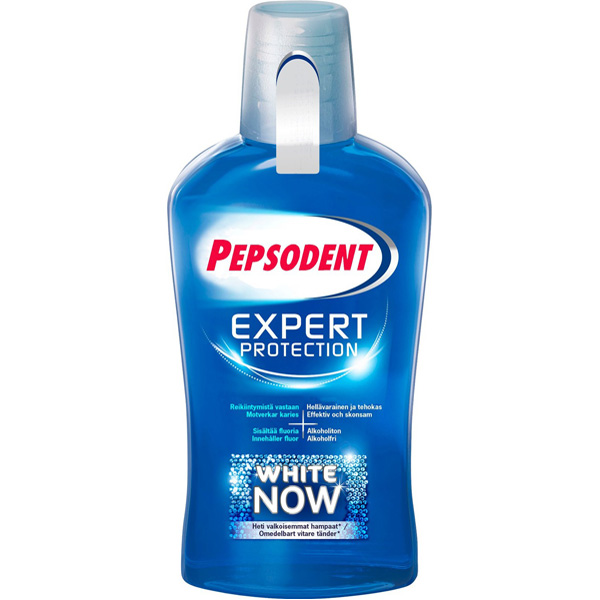 Pepsodent Expert Protection White Now suuvesi 500ml