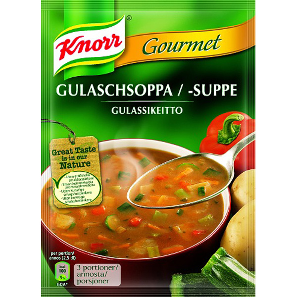 Knorr Gulassikeitto keittoainekset pussi 79g