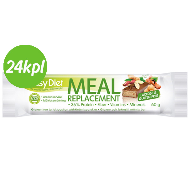 24kpl Easy Diet Patukka Nutmix 60g