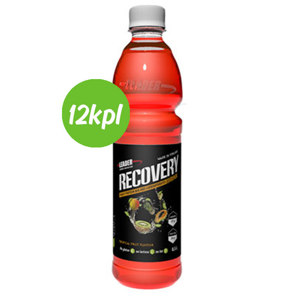 12kpl Recovery Tropical Fruits 500ml