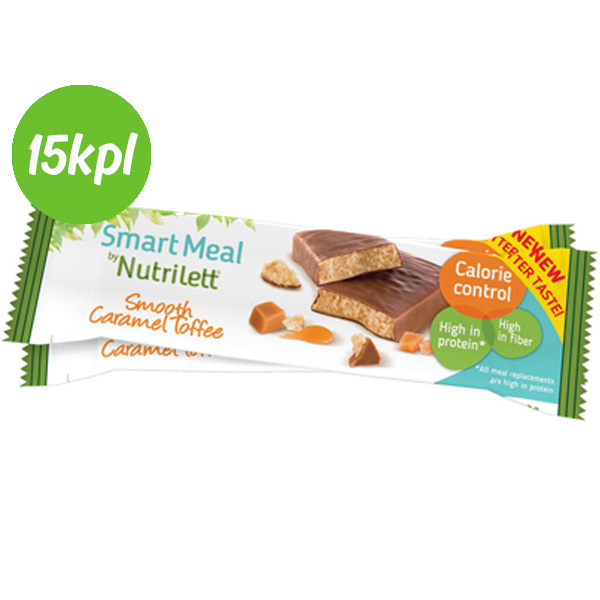 15kpl Nutrilett 56g Smooth Caramel bar